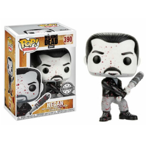 Figurine Pop! Negan Noir et Blanc EXC - The Walking Dead