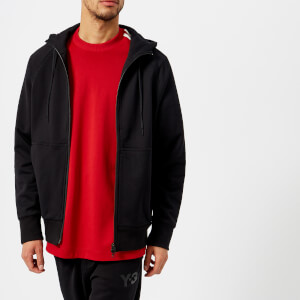 Y-3 Men's Cl Back Logo Zip Hoodie - Black