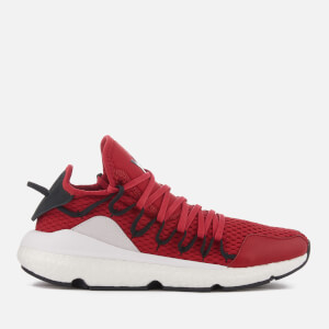 brand new f26eb 7bd78 Y-3 Kusari Trainers - Chilli Red