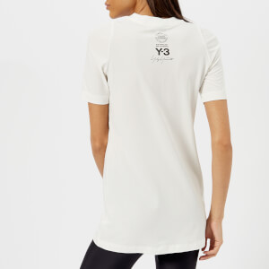 Y-3 Women's Short Sleeve Street T-Shirt - Core White/Black