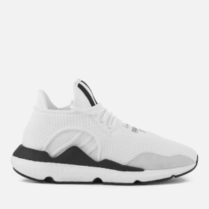 check out bb973 67612 Y-3 Saikou Trainers - Core White