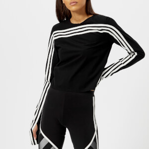 Y-3 Women's Stripe Long Sleeve T-Shirt - Black