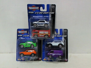 Teamsterz 2 Pack Die Cast Vehicles