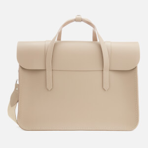 The Cambridge Satchel Company Women's Large Folio - Putty Saffiano