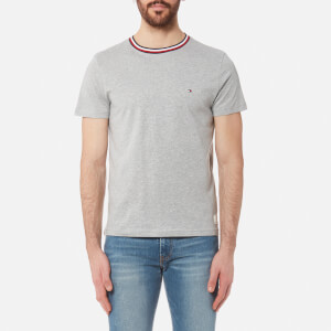 Tommy Hilfiger Men's Felix Collar Detail T-Shirt - Cloud Grey