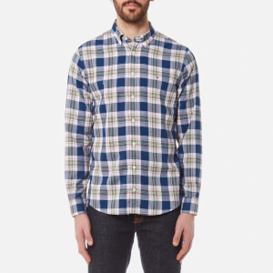 Tommy Hilfiger Men's Zac Check Long Sleeve Shirt - Estate Blue