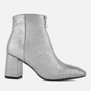 Rebecca Minkoff Women's Stefania Heeled Ankle Boots - Rock Grey