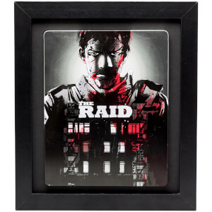 3D Black Collectors Frame with Black Mount