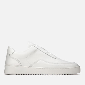 Filling Pieces Men's Ripple Low Mondo Trainers - White