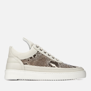 Filling Pieces Men's Ripple Python Low Top Trainers - Grey