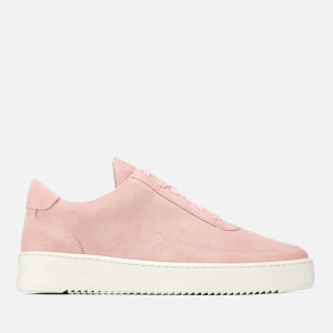 Filling Pieces Women's Ripple Low Mondo Trainers - Light Pink