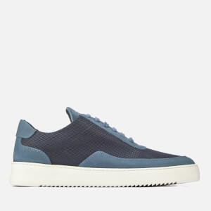 Filling Pieces Men's Ripple Low Mondo Trainers - Navy Blue