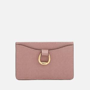 Lauren Ralph Lauren Women's Bennington Mini Card Case - Rose Smoke