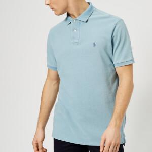 Polo Ralph Lauren Men's Short Sleeve Polo Shirt - Light Indigo