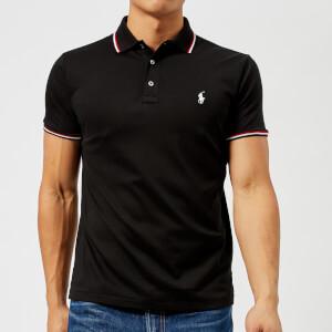 Polo Ralph Lauren Men's Pima Short Sleeve Polo Shirt - Polo Black