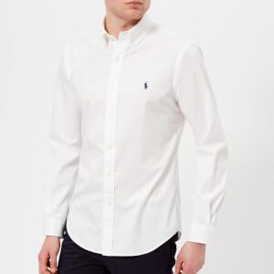 Polo Ralph Lauren Men's Long Sleeve Chino Shirt - White