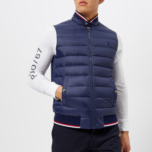 1f9099eab Polo Ralph Lauren Men s Padded Gilet - French Navy
