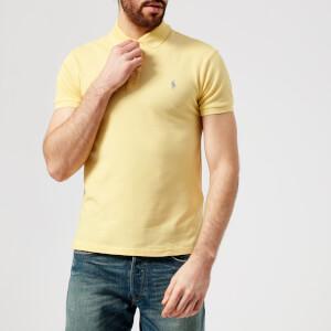 Polo Ralph Lauren Men's Stretch Mesh Polo Shirt - Banana Peel