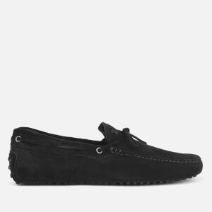Tod's Men's Gommino Suede Driving Shoes - Black