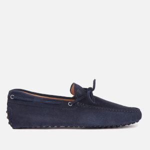 Tod's Men's Gommino Suede Driving Shoes - Navy