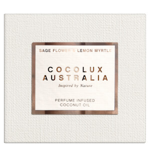 Cocolux Australia Sage Flower and Lemon Myrtle Sol Copper Candle 225g
