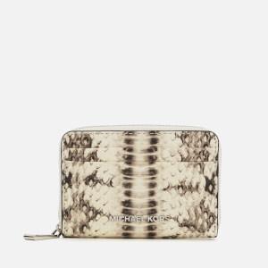 MICHAEL MICHAEL KORS Women's Zip Around Card Case - Natural
