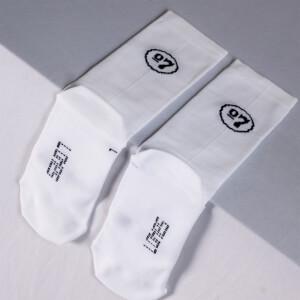 Sako7 Cest La Classe Socks - White