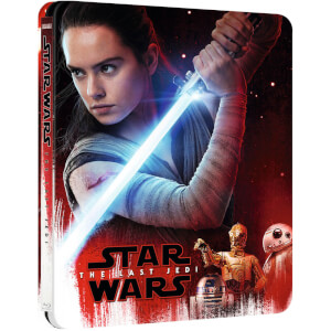 Star Wars: The Last Jedi 3D (Incl. 2D versie) - Zavvi UK Exclusive Steelbook