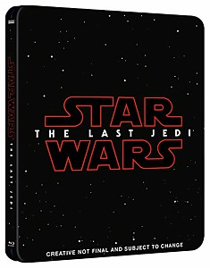 Star Wars: Die letzten Jedi 3D Blu-Ray Steelbook Limited Edition UK Exclusive