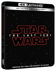 Star Wars: The Last Jedi - 4K Ultra HD (Includes 2D Blu-ray) - Zavvi UK Exclusive Steelbook