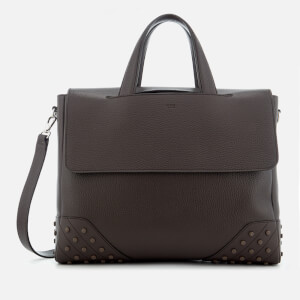 Tod's Men's Gommino Shopping Bag - Brown