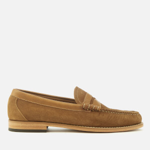 Bass Weejuns Men's Larson Reverso Suede Loafers - Tan