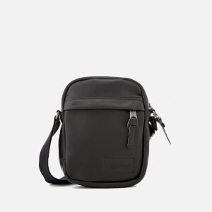Eastpak Men's The One Leather Cross Body Bag - Black