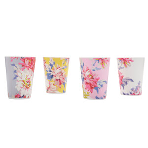 Joules Beau Beakers - Set of 4 - Whitstable Floral