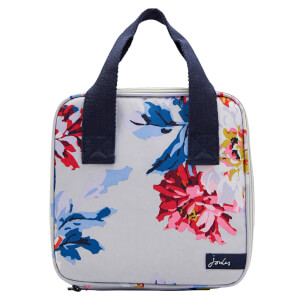 Joules Lunch Bag - Grey Whitstable Floral