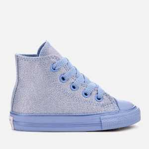 Converse Toddlers' Chuck Taylor All Star Hi-Top Trainers - Blue Chill/Blue Chill