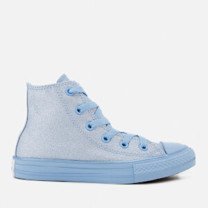 Converse Kids' Chuck Taylor All Star Hi-Top Trainers - Blue Chill/Blue Chill