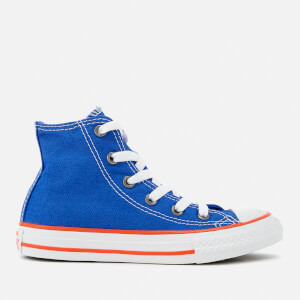 Converse Kids' Chuck Taylor All Star Hi-Top Trainers - Hyper Royal/Bright Poppy/White