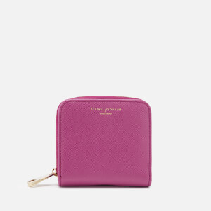 Aspinal of London Women's Continental Mini Wallet - Orchid