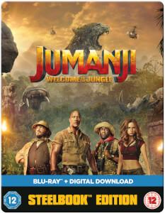 Jumanji: Willkommen im Dschungel - Limited Edition Steelbook Blu-ray