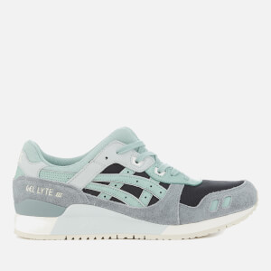 Asics Lifestyle Men's Gel-Lyte III Trainers - Black/Blue Surf