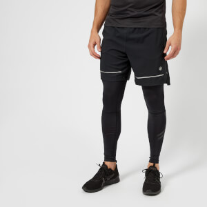 Asics Running Men's Lite Show 7 Inch Shorts - Performance Black