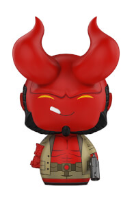 Hellboy with Horns Dorbz Vinyl Figur