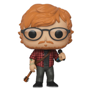 Pop! Rocks Ed Sheeran Funko Pop! Figuur