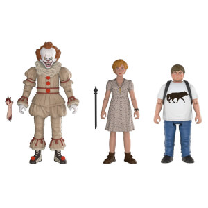Confezione da 3 Funko Action Figures IT - Pennywise, Beverly e Ben