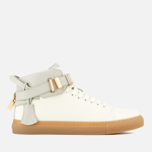 Buscemi Men's 100MM Canvas Trainers - Black/Off White
