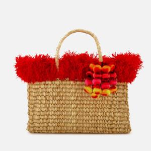 Nannacay Women's Xhios Tote Bag - Off White/Red