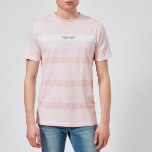 Marshall Artist Men's Classic Stripe T-Shirt - Pink