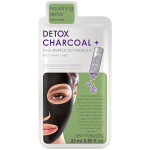 Skin Republic Superfood Detox + Charcoal Mask 25ml (10 Pack)