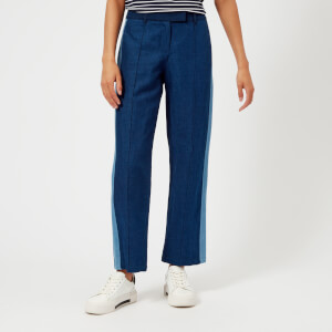 A.P.C. Women's Cooper Denim Trousers - Indigo Delave